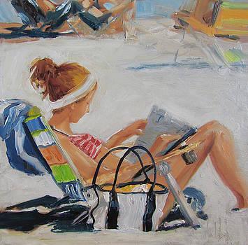 Beach Scene by Barbara Andolsek