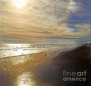 Beach Scene by Diana Chason