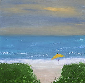 Beach Scene by Dick Bourgault