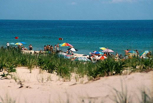 Beach Scene by Steve Karol