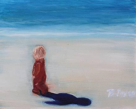 Beach Shadow by Barbara Joyce