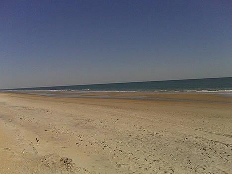 Beach Solitutde by Al Smith