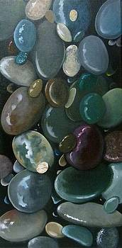Beach Stones by Linda Hunt