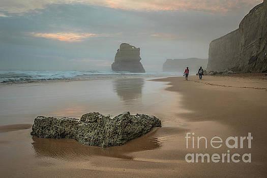 Beach stroll by Howard Ferrier