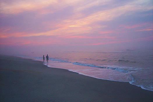 Beach Sunrise - 41 by Donovan Hubbard