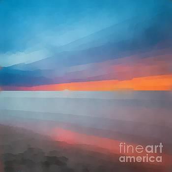 Edward Fielding - Beach Sunset Abstract 2