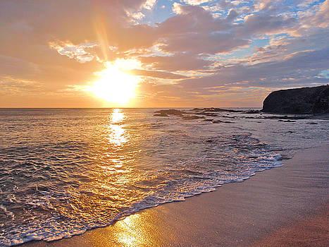 Beach Sunset by Steve Mcknight