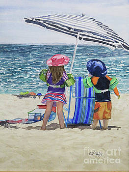 Beach Time by Carol Flagg