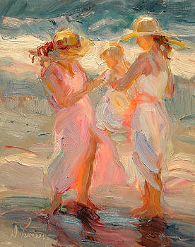 Beach Time by Diane Leonard