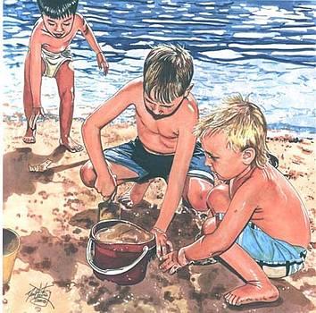 Beach Time by Neal Portnoy