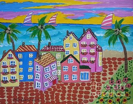 Beach Town USA by Karleen Kareem