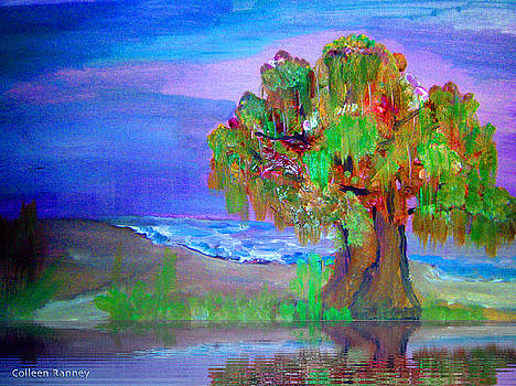 Beach Tree by Colleen Ranney
