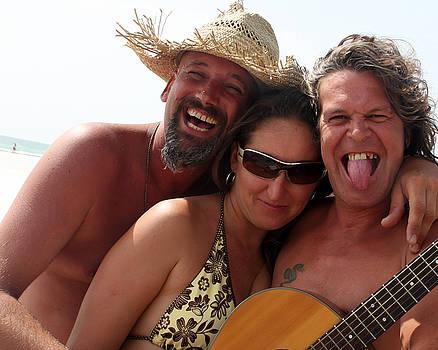 Beach Trio by David Ralph Johnson