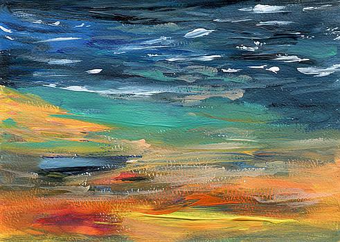 Beach Twilight by Neliza Drew