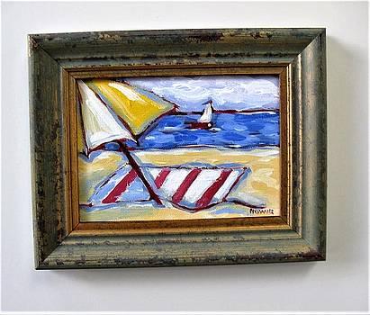 Beach Umbrella by Brooke Baxter Howie