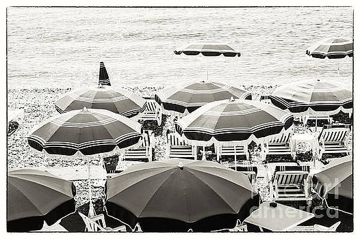Elena Elisseeva - Beach umbrellas in Nice