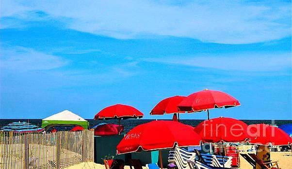 Paulette Thomas - Beach Umbrella