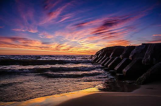 Beach View by Todd Heckert
