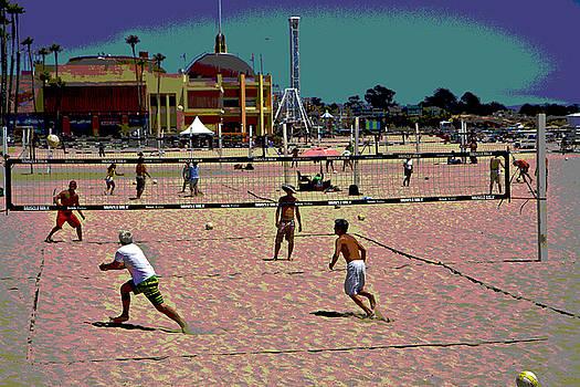 Tom Kelly - Beach Volleyball