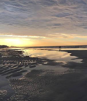 Beach Walk 1 by Judith Morris