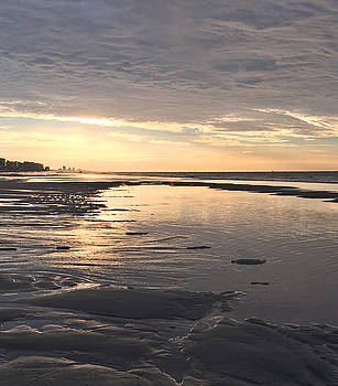 Beach Walk 2 by Judith Morris