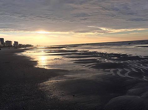 Beach Walk 3 by Judith Morris