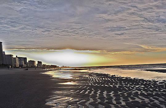 Beach Walk 4 by Judith Morris