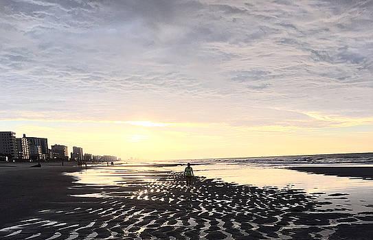 Beach Walk 5 by Judith Morris