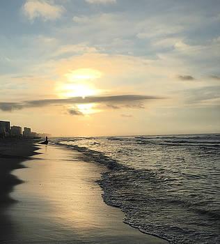 Beach Walk 6 by Judith Morris
