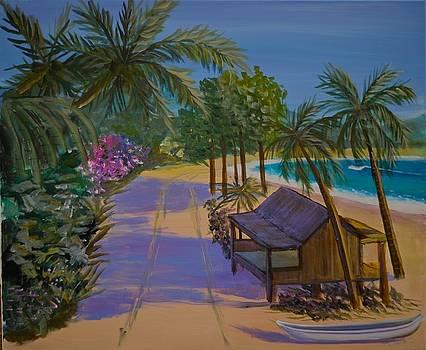 Beach Walk by Bob Hasbrook