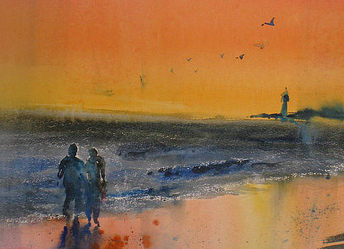 Beach Walk by John Byram