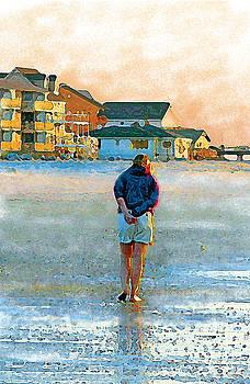 Beach Walk by Judith Bicking
