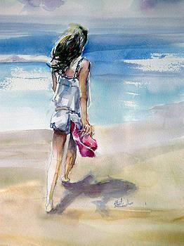 Beach Walk by Shirley Roma Charlton