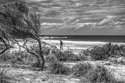 Beach Walker by Paul Donohoe