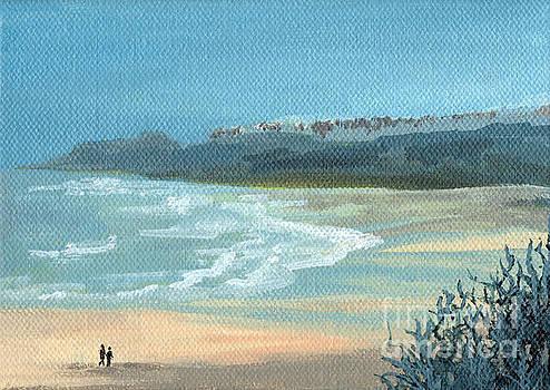Beach Walkers by Julia Underwood