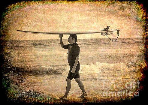 Beach - Wave Rider by Kip Krause