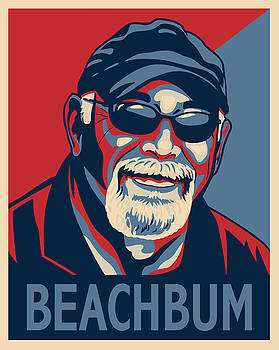 Beachbum by Sue  Brehant