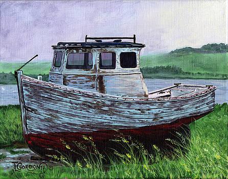 Beached at Bay of Ayre by Timithy L Gordon