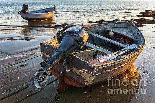 Beached Boats at La Caleta Cadiz Spain by Pablo Avanzini