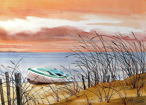 Beached In Breeze by Art Scholz