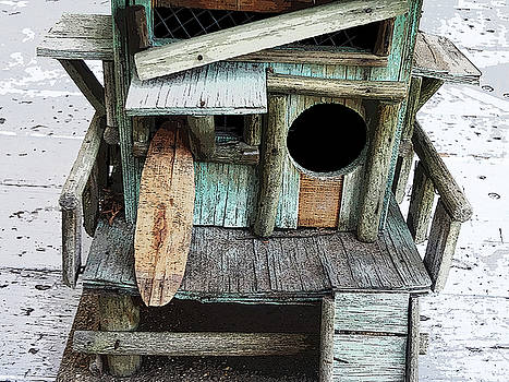 Beachfront Birdhouse for Rent 1 by Bruce Iorio