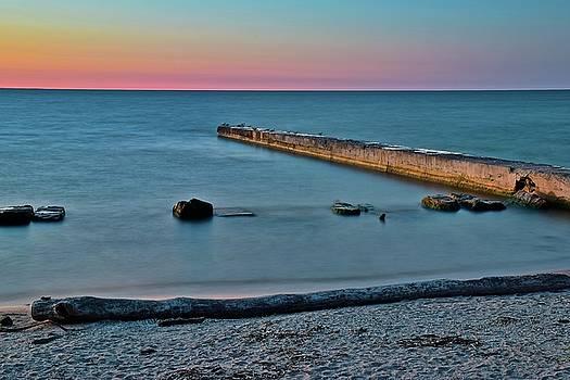 Frozen in Time Fine Art Photography - Beachfront Serenity