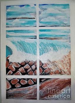 Beachfront Window by Suzanne Thomas