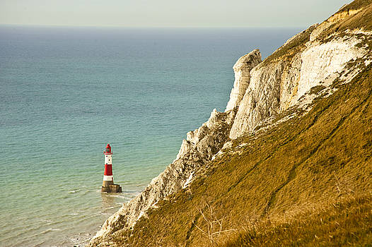 Beachy Head Lighthouse by Donald Davis