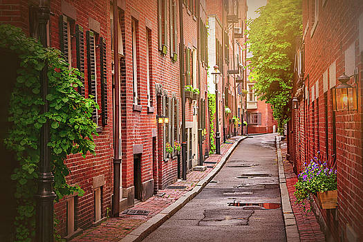 Beacon Hill Boston by Carol Japp