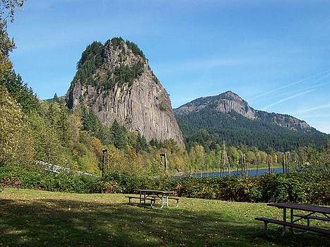 Beacon Rock by Julie Bell
