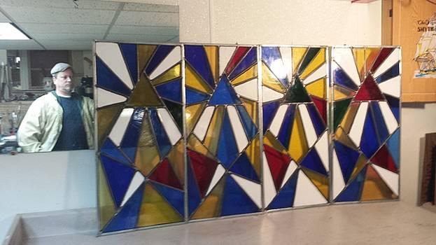 Beacon Stain Glass Windows by Patrick RANKIN