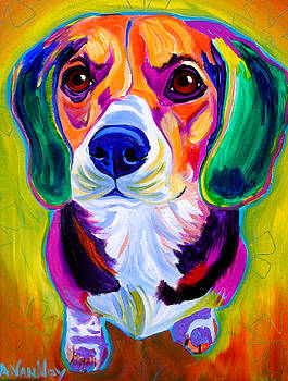 Beagle - Molly by Alicia VanNoy Call