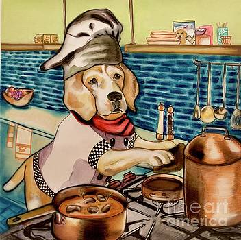 Beagle Baking by Tiffany Brazell