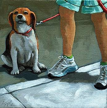 Beagle Day by Linda Apple